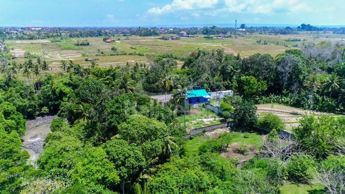 Riverfront land in Tabanan
