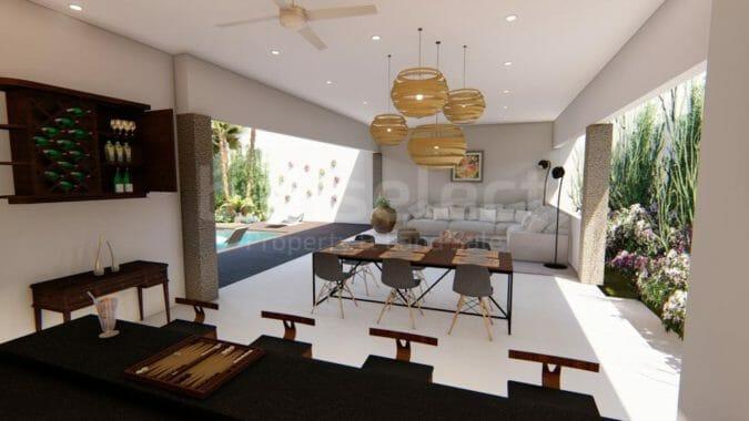3 Bedrooms Modern Style Villa in Berawa