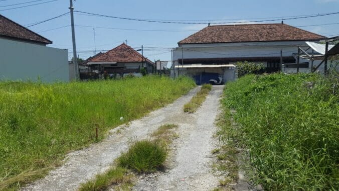 Leasehold Land For Rent in Canggu